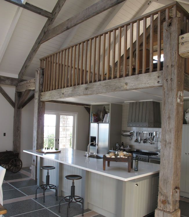 kitchen, barn, clean, white