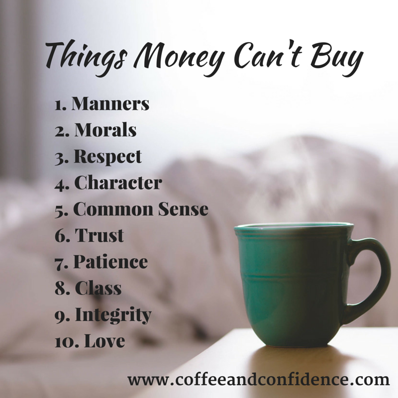 Can T Buy Me Love Quotes: Coffee And Confidence