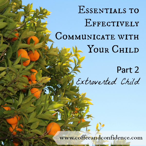 extrovert, introvert, child, children, kids, parent, communicate, talk, understand