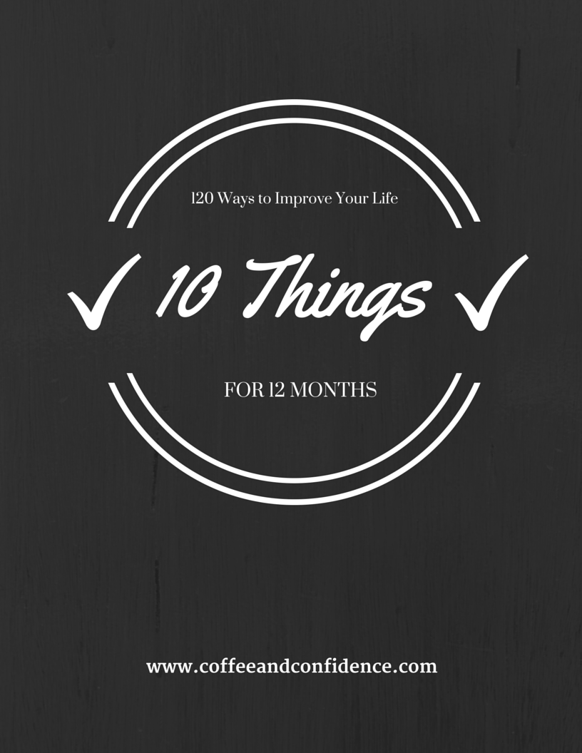 10 Things for 12 Months