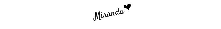 Miranda Signature